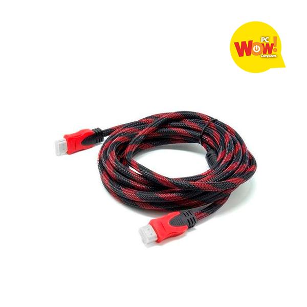 Cable HDMI 3 Mts doble filtro con malla