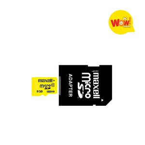 Memoria Micro SDHC 8GB Maxell Clase 10